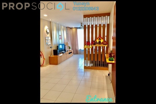 For Sale Condominium at The Tamarind, Sentul Freehold Semi Furnished 3R/2B 650k