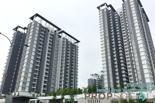 For Rent Condominium at Vina Versatile Homes, Cheras South Freehold Fully Furnished 3R/2B 1.6k