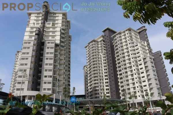 For Rent Serviced Residence at Maisson, Ara Damansara Freehold Semi Furnished 2R/2B 1.8k