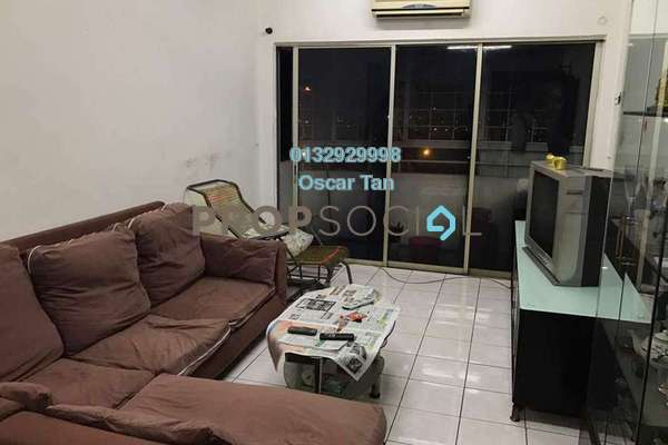 For Rent Apartment at Plaza Sinar, Segambut Freehold Fully Furnished 3R/2B 1.6k