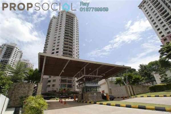 For Rent Condominium at Changkat View, Dutamas Freehold Fully Furnished 3R/2B 2.5k
