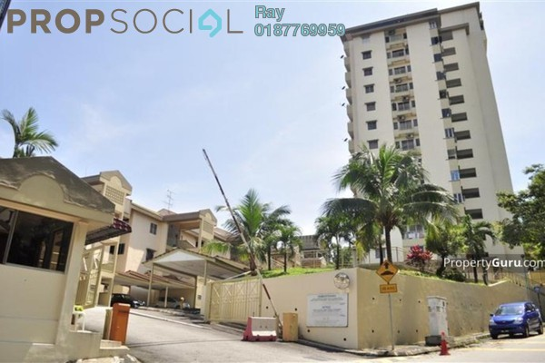 For Rent Condominium at Midah Heights, Cheras Freehold Fully Furnished 3R/2B 1.8k
