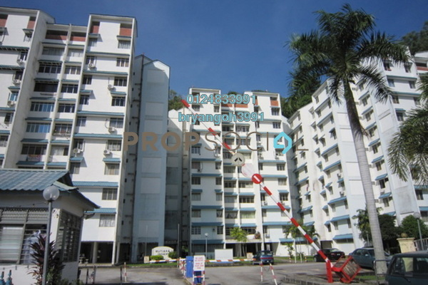 For Rent Apartment at Mutiara Indah, Bukit Gambier Freehold Unfurnished 3R/2B 750translationmissing:en.pricing.unit