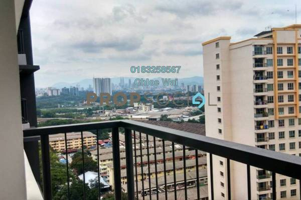 For Sale Condominium at Spring Avenue, Kuchai Lama Freehold Semi Furnished 3R/2B 600k