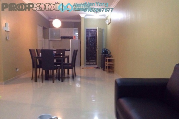 For Rent Condominium at Putra Majestik, Sentul Freehold Fully Furnished 3R/2B 1.8k