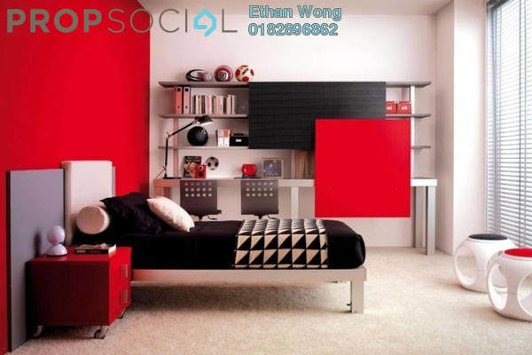 For Sale Condominium at Edusentral , Setia Alam Freehold Semi Furnished 1R/1B 320k