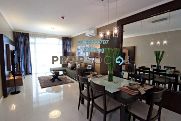 For Sale Condominium at Pinnacle, Sri Petaling Freehold Semi Furnished 4R/3B 650k