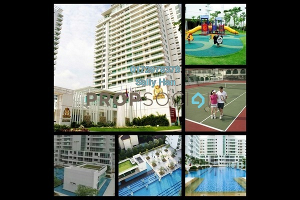 For Sale Condominium at Embassyview, Ampang Hilir Freehold Semi Furnished 4R/4B 1.6m