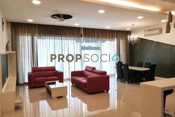 For Rent Condominium at Acacia, Bangsar South Freehold Fully Furnished 3R/3B 6.8k