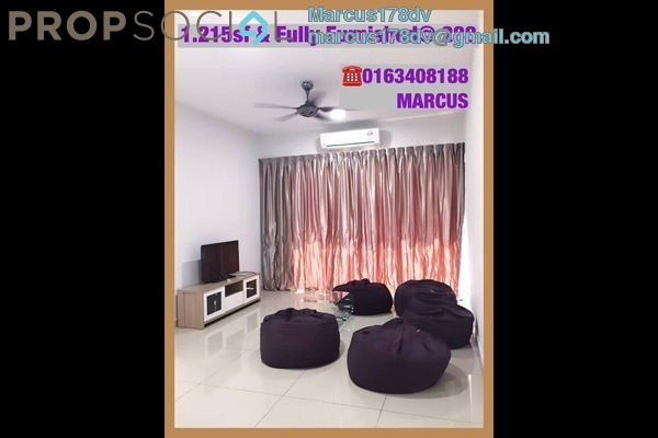 For Rent Condominium at 288 Residences, Kuchai Lama Freehold Semi Furnished 3R/2B 2.3k