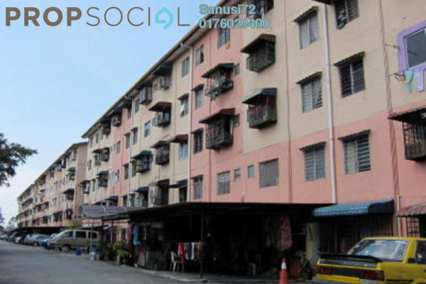 For Sale Apartment at Taman Puchong Prima, Puchong Freehold Unfurnished 3R/1B 80k