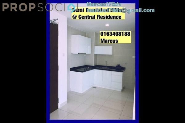 For Sale Condominium at Central Residence, Sungai Besi Freehold Semi Furnished 2R/1B 378k
