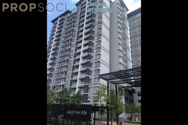 For Rent Condominium at Anyaman Residence, Bandar Tasik Selatan Freehold Fully Furnished 3R/2B 1.5k