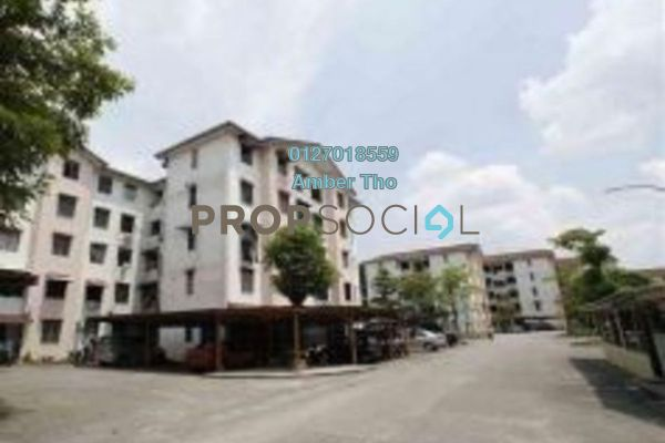 For Sale Apartment at Taman Impian Ehsan, Balakong Leasehold Unfurnished 3R/2B 161k