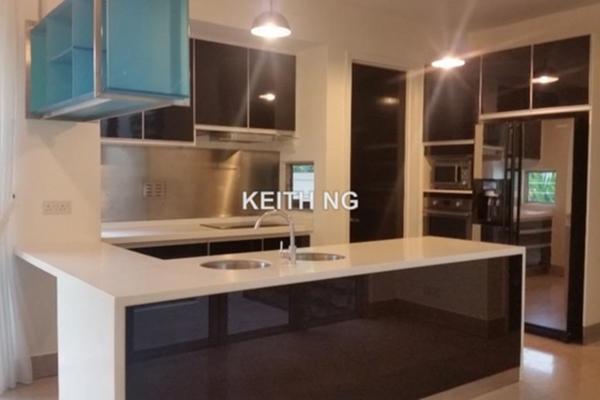 For Rent Terrace at Villa Aseana, Mont Kiara Freehold Semi Furnished 5R/6B 9k