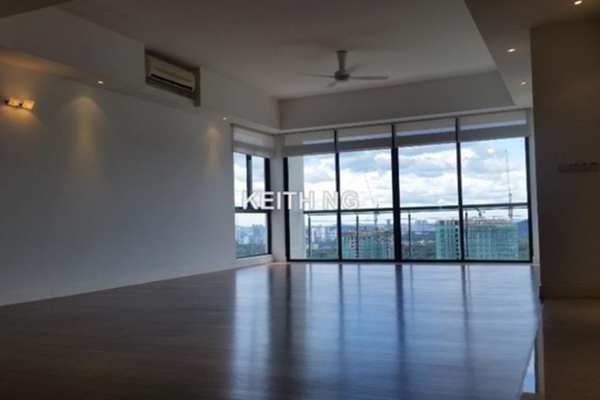 For Rent Condominium at Bangsar Peak, Bangsar Freehold Semi Furnished 3R/3B 12k
