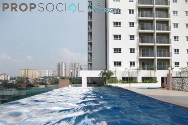 For Sale Condominium at Suria Jelatek Residence, Ampang Hilir Freehold Semi Furnished 3R/2B 668k