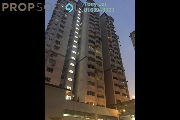 For Rent Condominium at BAM Villa, Cheras Freehold Semi Furnished 3R/2B 1.3k
