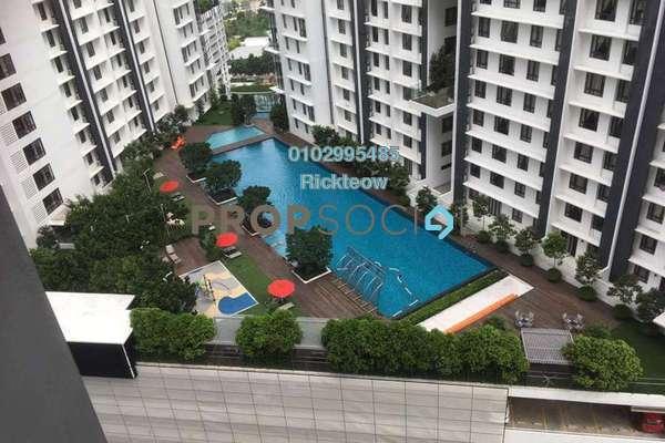 For Rent Condominium at The Arc, Cyberjaya Freehold Semi Furnished 3R/2B 1.2k