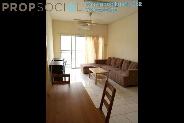 For Rent Condominium at Arte +, Jalan Ampang Freehold Semi Furnished 3R/2B 1.4k