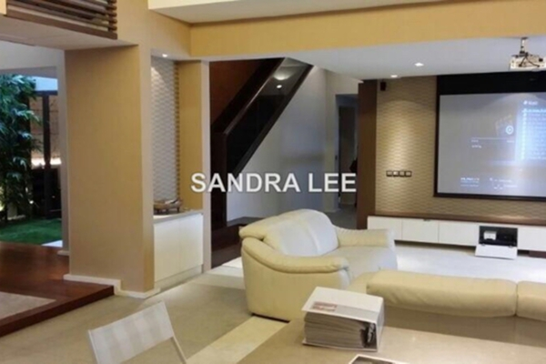 For Sale Townhouse at Sri Penaga, Bangsar Freehold Fully Furnished 5R/6B 6m