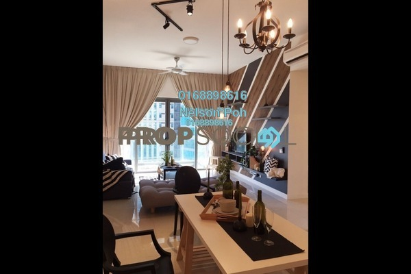 For Sale Serviced Residence at Reflection Residences, Mutiara Damansara Freehold Semi Furnished 3R/2B 900k