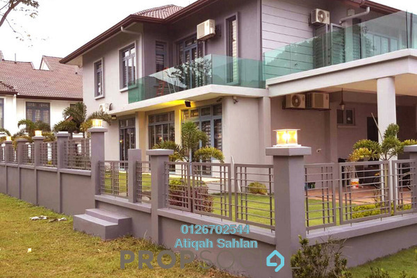 For Sale Terrace at Saffron Hills, Denai Alam Freehold Fully Furnished 5R/5B 1.65m