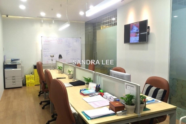 For Rent Office at Oval Tower, TTDI Freehold Fully Furnished 0R/1B 2.5千