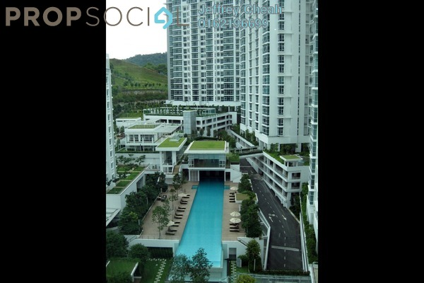 For Sale Condominium at Sunway Vivaldi, Mont Kiara Freehold Semi Furnished 4R/4B 2.3m