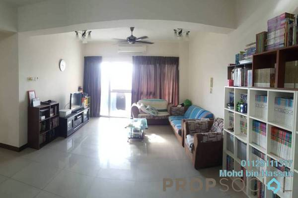 For Rent Serviced Residence at Ampang Putra Residency, Ampang Freehold Semi Furnished 3R/2B 2.2k