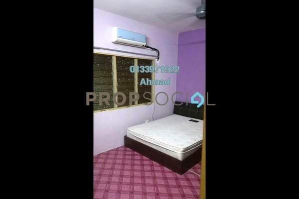 For Rent Apartment at PKNS Seksyen 7 Flat, Shah Alam Freehold Fully Furnished 3R/2B 1.12k