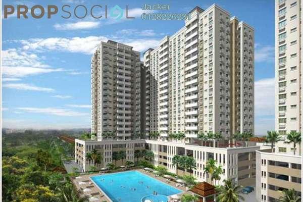 For Rent Condominium at Kinrara Mas, Bukit Jalil Freehold Semi Furnished 3R/2B 1.4k