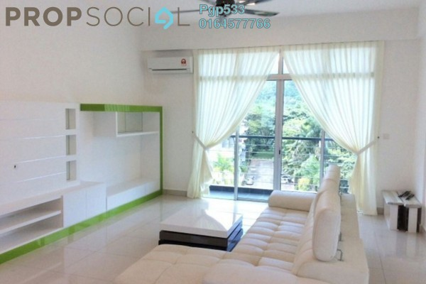 For Rent Condominium at Meridien Residence, Sungai Ara Freehold Fully Furnished 3R/2B 2k