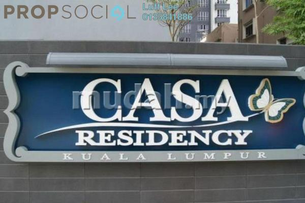 For Rent Condominium at Casa Residency, Pudu Freehold Fully Furnished 3R/2B 4.3k