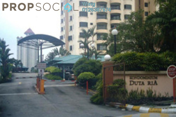 For Sale Condominium at Duta Ria, Dutamas Freehold Semi Furnished 3R/2B 545k