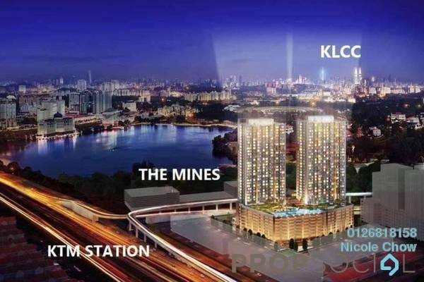 For Sale Serviced Residence at Astetica Residences, Seri Kembangan Freehold Semi Furnished 2R/2B 410k