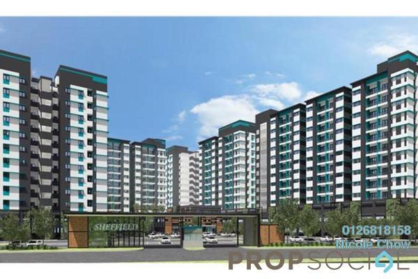 For Sale Condominium at Taman Zamrud, Kajang Freehold Unfurnished 3R/2B 310.0千