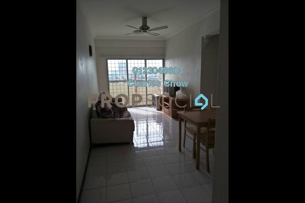 For Rent Condominium at Sri Teratai Apartment, Bandar Kinrara Freehold Semi Furnished 3R/2B 900translationmissing:en.pricing.unit