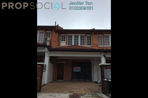 For Sale Terrace at Palm Walk, Bandar Sungai Long Freehold Semi Furnished 4R/3B 630k