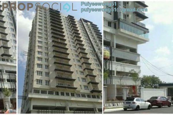 For Rent Condominium at Villa Seri Puteri, Cheras Leasehold Unfurnished 3R/2B 2k