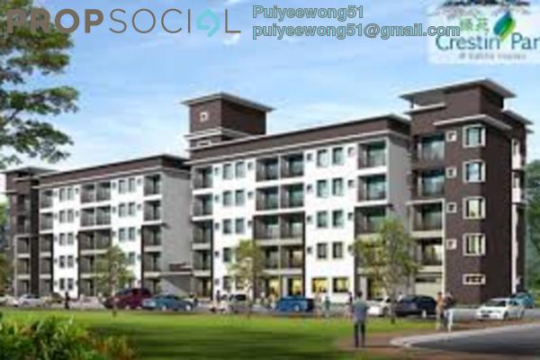 For Rent Apartment at Taman Kajang Sentral, Kajang Freehold Unfurnished 3R/2B 1k