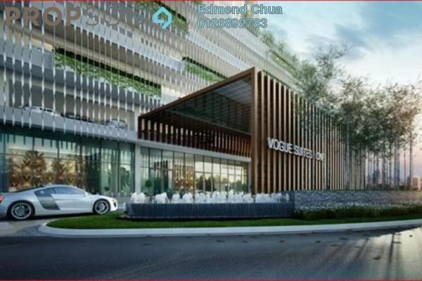 For Sale Condominium at Avenue D'Vogue, Petaling Jaya Freehold Semi Furnished 2R/1B 1.12m