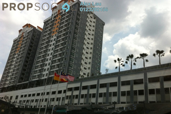 For Rent Condominium at Park 51 Residency, Petaling Jaya Freehold Semi Furnished 4R/2B 2.1k