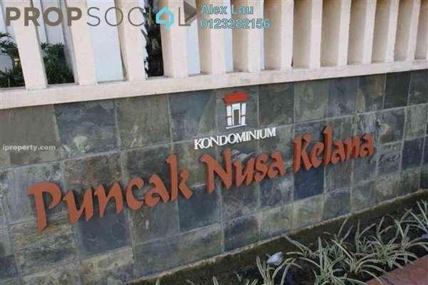 For Rent Condominium at Puncak Nusa Kelana, Ara Damansara Freehold Semi Furnished 3R/3B 1.8k