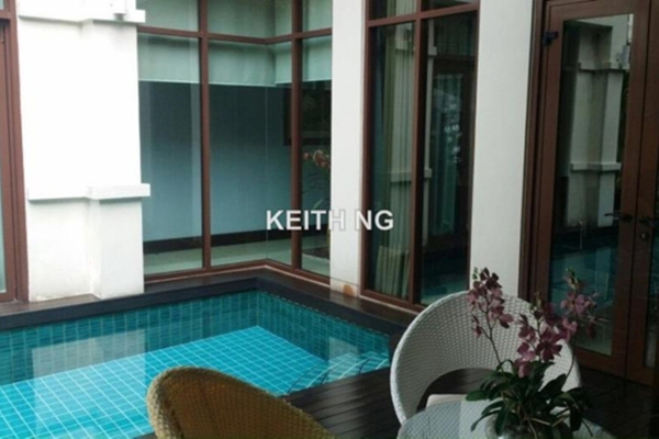 For Sale Bungalow at Kiara Hills, Mont Kiara Freehold Fully Furnished 5R/7B 6.5m