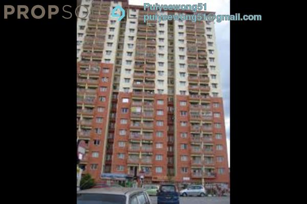 For Rent Apartment at Sri Cempaka Apartment, Kajang Freehold Fully Furnished 3R/2B 1.3k