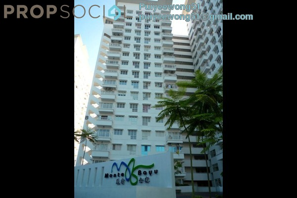 For Rent Condominium at Monte Bayu, Cheras Leasehold Semi Furnished 3R/2B 1.45k