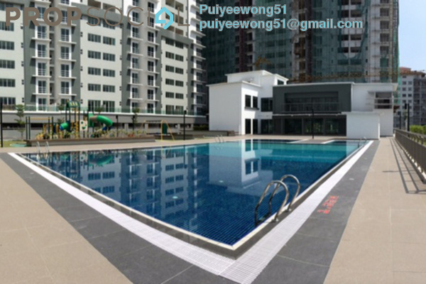 For Rent Condominium at Taman Connaught, Cheras Leasehold Semi Furnished 3R/2B 1.5k