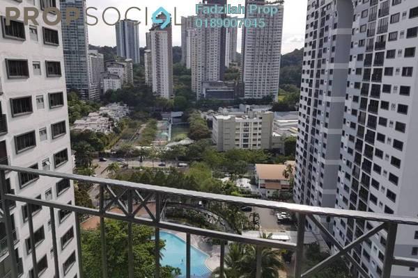 For Sale Condominium at Vista Kiara, Mont Kiara Freehold Fully Furnished 3R/2B 750k