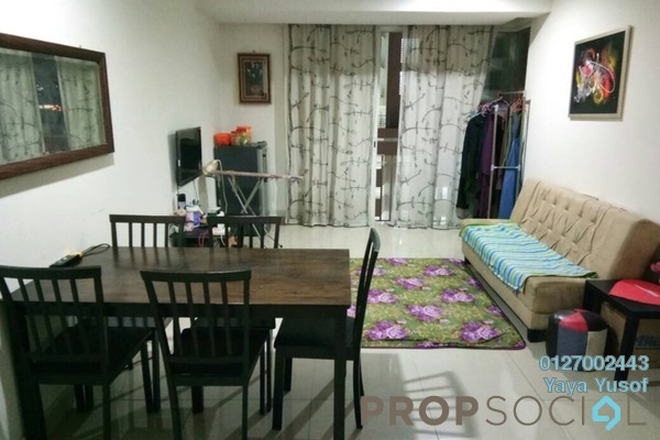 For Rent Condominium at Menara U, Shah Alam Freehold Fully Furnished 2R/1B 1.7k